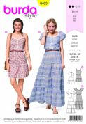 6403 Burda Pattern: Womans Dress